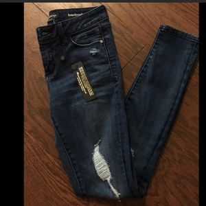 NWT Bebe skinny jeans